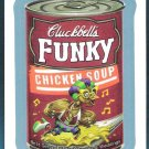 CLUCKBELL'S FUNKY CHICKEN 2013 Topps Wacky Packages BLUE PARALLEL Sticker Card #33 FREE SHIPPING