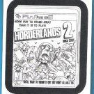HORDERLANDS 2 2013 Topps Wacky Packages COLORING CARD Insert #6 FREE SHIPPING Parallel