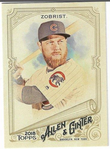 Ben Zobrist 2018 Topps Allen Ginter Baseball Card 165