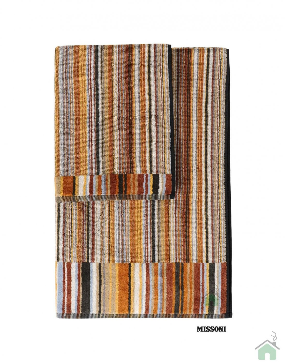 Set of 2 bath towels+1 hand towel Missoni Home Jazz var.160