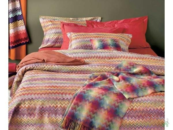 Sheets set for queen bed Missoni Home John - Chevron Design fashion