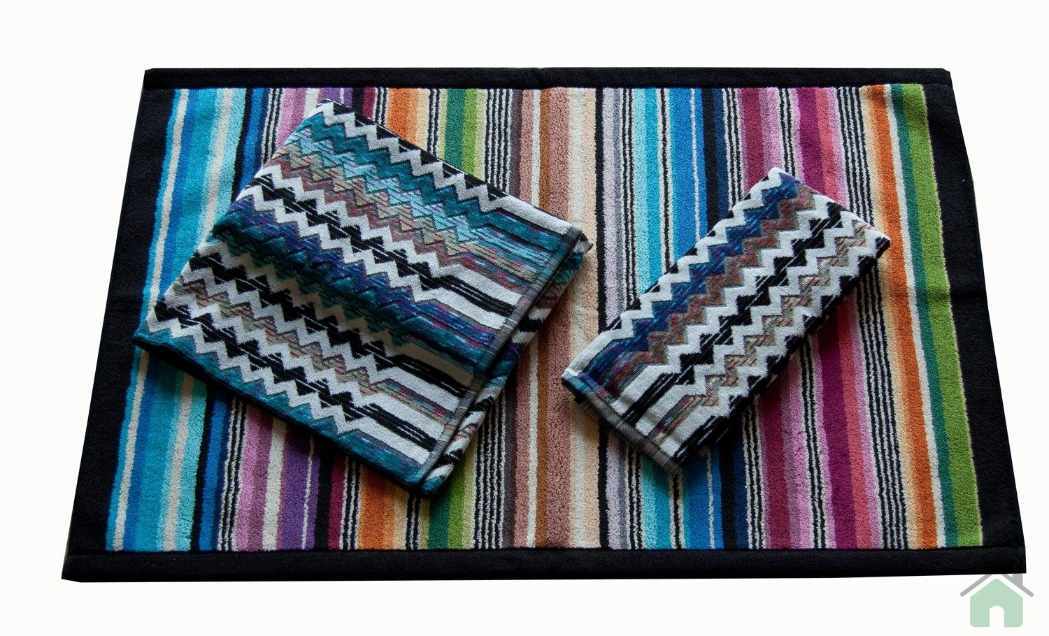 Towels set 1+1 Missoni Home Paul 170 +Missoni Hill bathmat