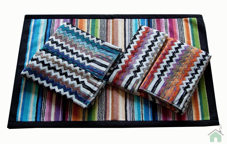 2 towels set 1+1 Missoni Paul 156-170 + Missoni Hill bathmat