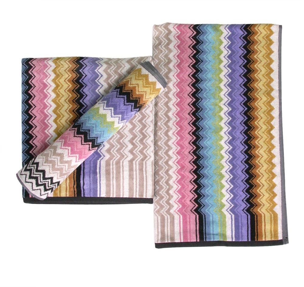 Missoni Home Ralph 2015 2 bath towels+1 bath sheet chevron zig-zag