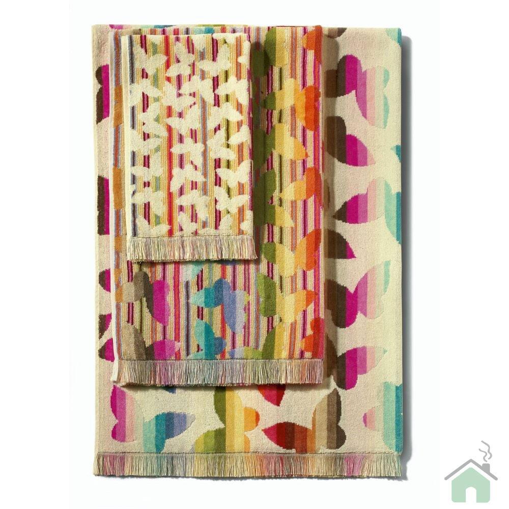 Full Set 3 pieces of 1 bath sheet+1 bath towel+1 hand towel Missoni Josephine