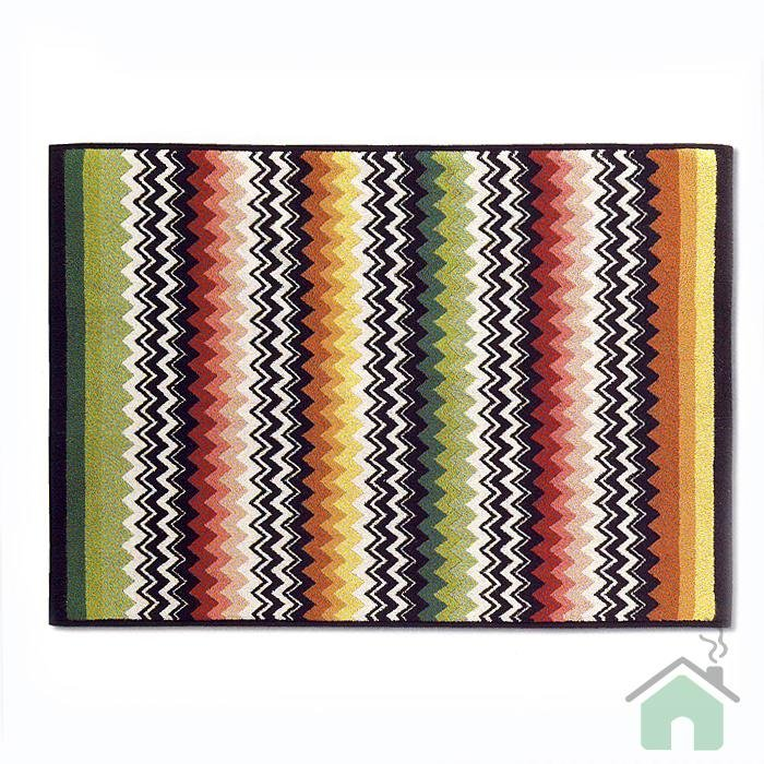 Bath sheet Missoni Home Niles var.156 - multicolor zig-zag stripes