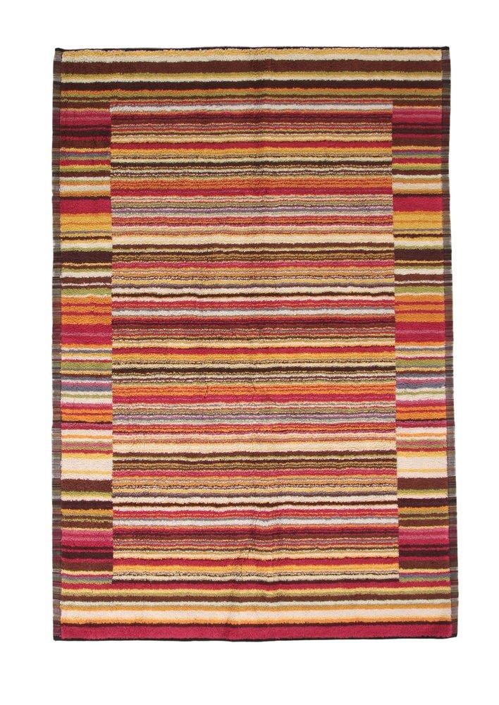 Missoni Home 2015 156 Jazz bathmat 60x170 tones of red, Brown, Orange and green