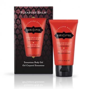 Kamasutra Pleasure Balm Strawberry Dreams Body Gel