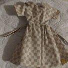 VINTAGE BARBIE BILD LILLI CLONE DRESS 1950s SHIRTWAIST STYLE   FREE SHIP