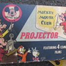 VINTAGE MICKEY MOUSE CLUB PROJECT IN ORIGINAL BOX NON-WORKING FOR DISPLAY REPAIR