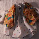 AMERICAN GIRL SIZE OUTFIT VEST BEACH THEME SHIRT WITH STARS PANTS HOMEMADE