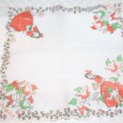Vintage Walt Disney's Snow White Hankie Red and White Mint Still Crisp