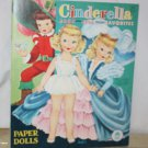 Vintage Cinderella and Jack & Jill Story Favorites Paper Dolls Mostly Uncut