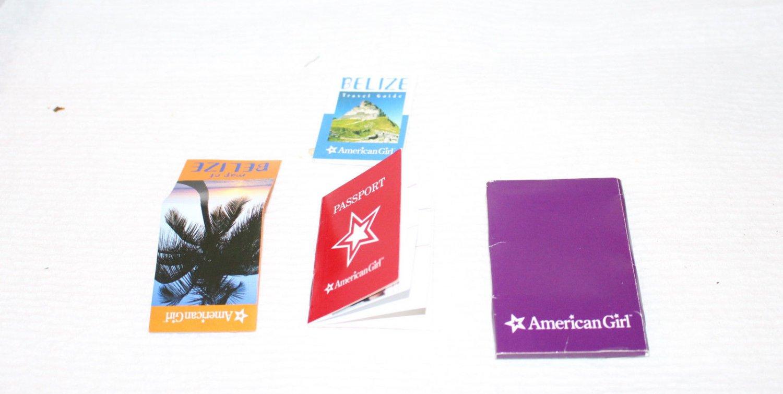 AMERICAN GIRL TRAVEL BROCHURE BELEZE PASSPORT