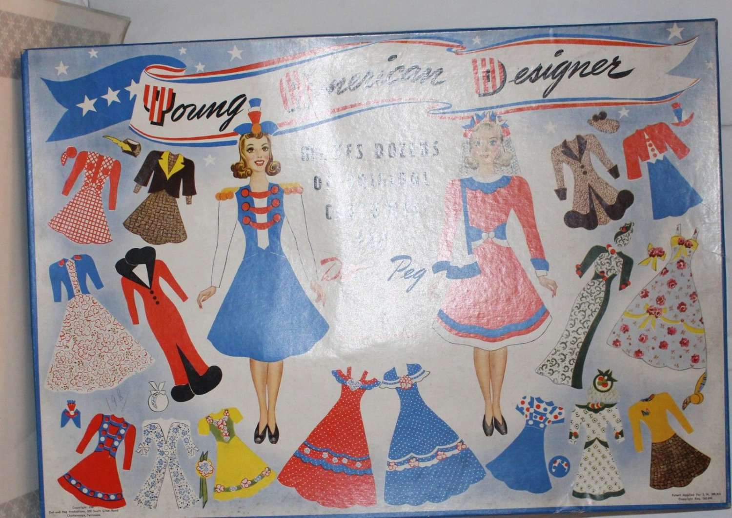 Vintage Young American Designer Makes Dozens of Costumes for Dot and Peg 1940s