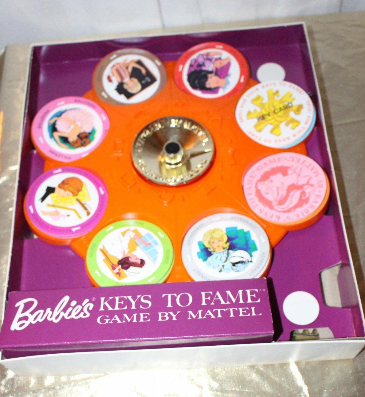 Vintage Barbie Keys to Fame Game Unused