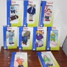 9 Selecta Dollhouse Dolls Family MIB Wooden Pretend Play Germany