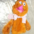Vintage Sesame Street Fisher Price Fozzie Bear Puppet