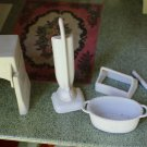 MARX MARXIE MANSION LAUNDRY CLOTHES PRESS BROOM VACUUM BASKET MILK CARRIER