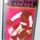 "Vint Boadway Dancers  Doll Outfit MOC 1986 Fits Barbie Sun 'n Fun Girl 11-1/2"""