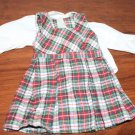 American Girl Doll Molly Plaid Jumper and Blouse Excellent
