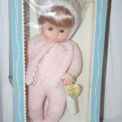 Effanbee Dy-Dee Baby Doll NIB Blue & Pink Box Hang Tag Pink Outfit 17""