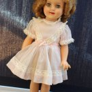 Vintage 1950s Vinyl Shirley Temple Doll Dressed 15""