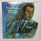 "FRANK SINATRA September Of My Years 12"" Vinyl LP Reprise"