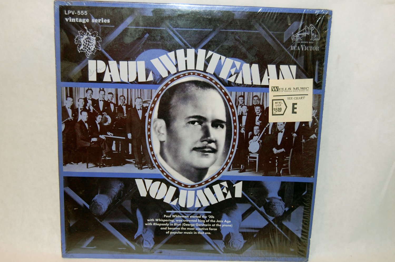 "PAUL WHITEMAN Volume 1 12"" Vinyl LP RCA 1968"