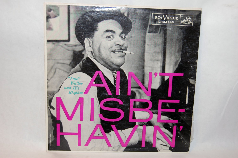 "FATS WALLER & HIS RHYTHM Ain't Misbehavin' 12"" Vinyl LP RCA"