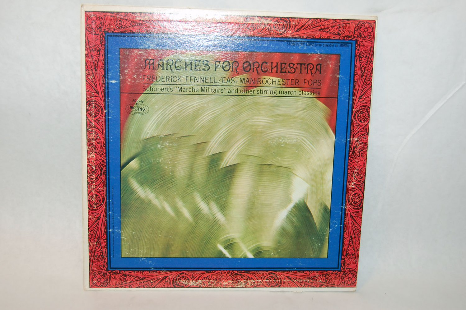 """MARCHES FOR ORCHESTRA Frederick Fennell / Eastman Rochester Pops 12"""" Vinyl LP Mercury"""