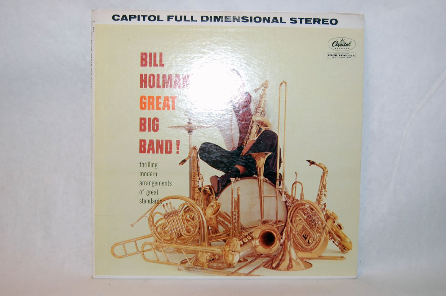 "BILL HOLMAN'S GREAT BIG BAND! 12"" Vinyl LP Captol"
