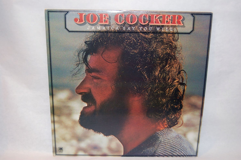 "JOE COCKER Jamaica Say You Will 12"" Vinyl LP A&M 1975"