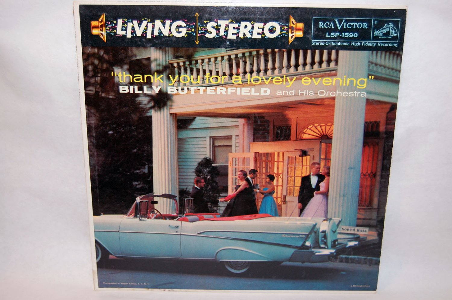 """BILLY BUTTERFIELD Thank You For A Lovely Evening 12"""" Vinyl LP RCA"""