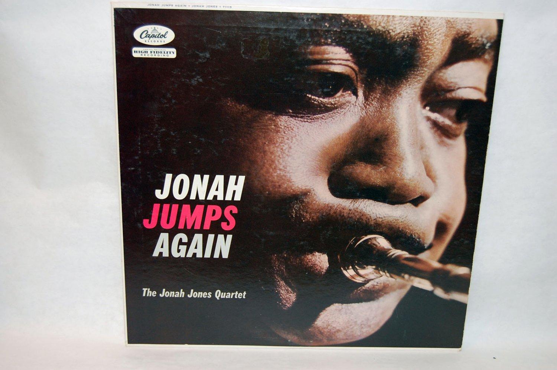 "JONAH JONES QUARTET Jonah Jumps Again 12"" Vinyl LP Capitol"