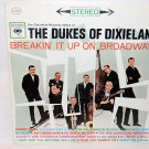 "THE DUKES OF DIXIELAND Breakin' It Up On Broadway 12"" Vinyl LP Columbia CS-8528"