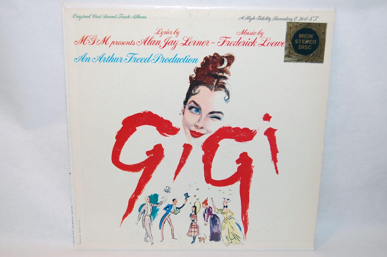 """GIGI Original Cast Soundtrack 12"""" Vinyl LP MGM E-3641ST"""