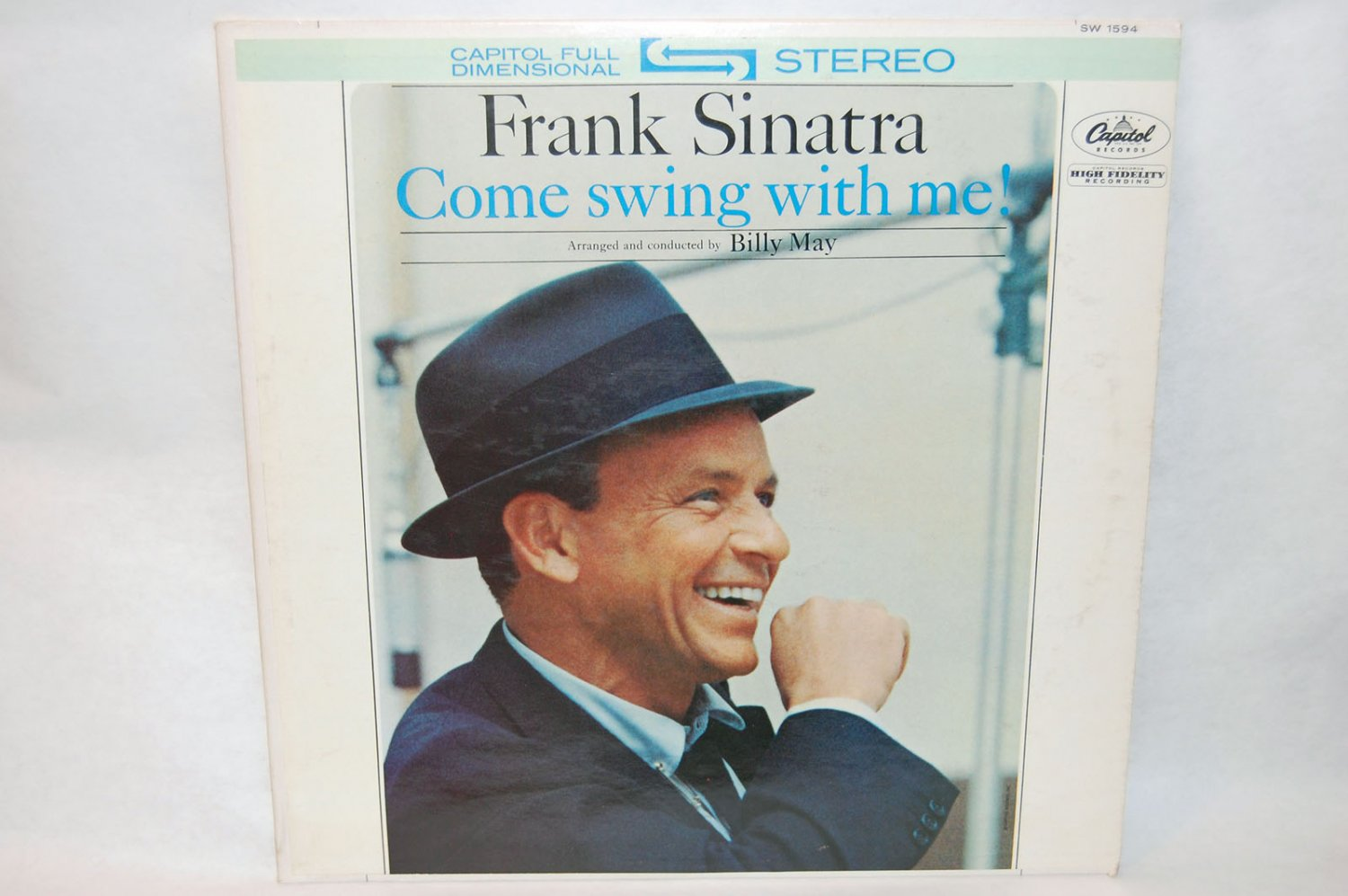 """FRANK SINATRA Come Swing With Me 12"""" Vinyl LP Capitol SW-1594"""