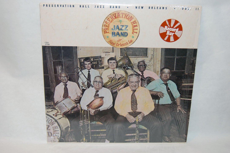 "THE PRESERVATION HALL JAZZ BAND New Orleans Vol II 12"" Vinyl LP CBS 1982"