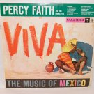 "PERCY FAITH & ORCHESTRA VIVA The Music Of Mexico 12"" Vinyl LP Columbia CL-1075"