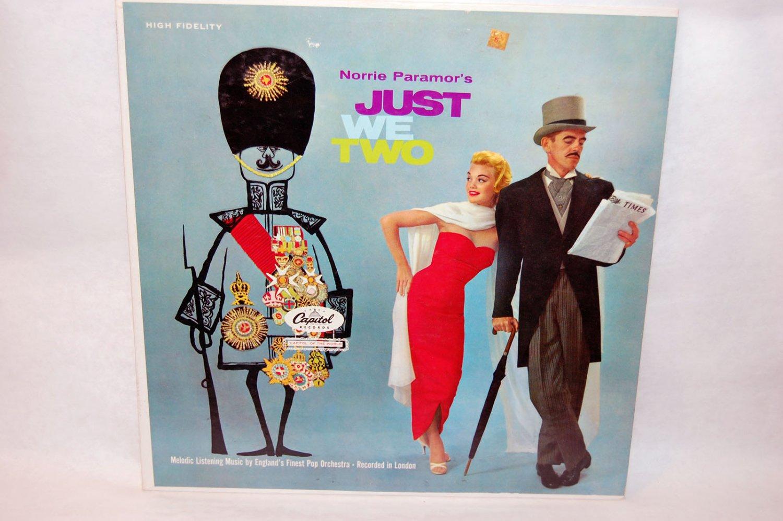 "NORRIE PARAMOR Just We Two 12"" Vinyl LP Capitol T-10111"