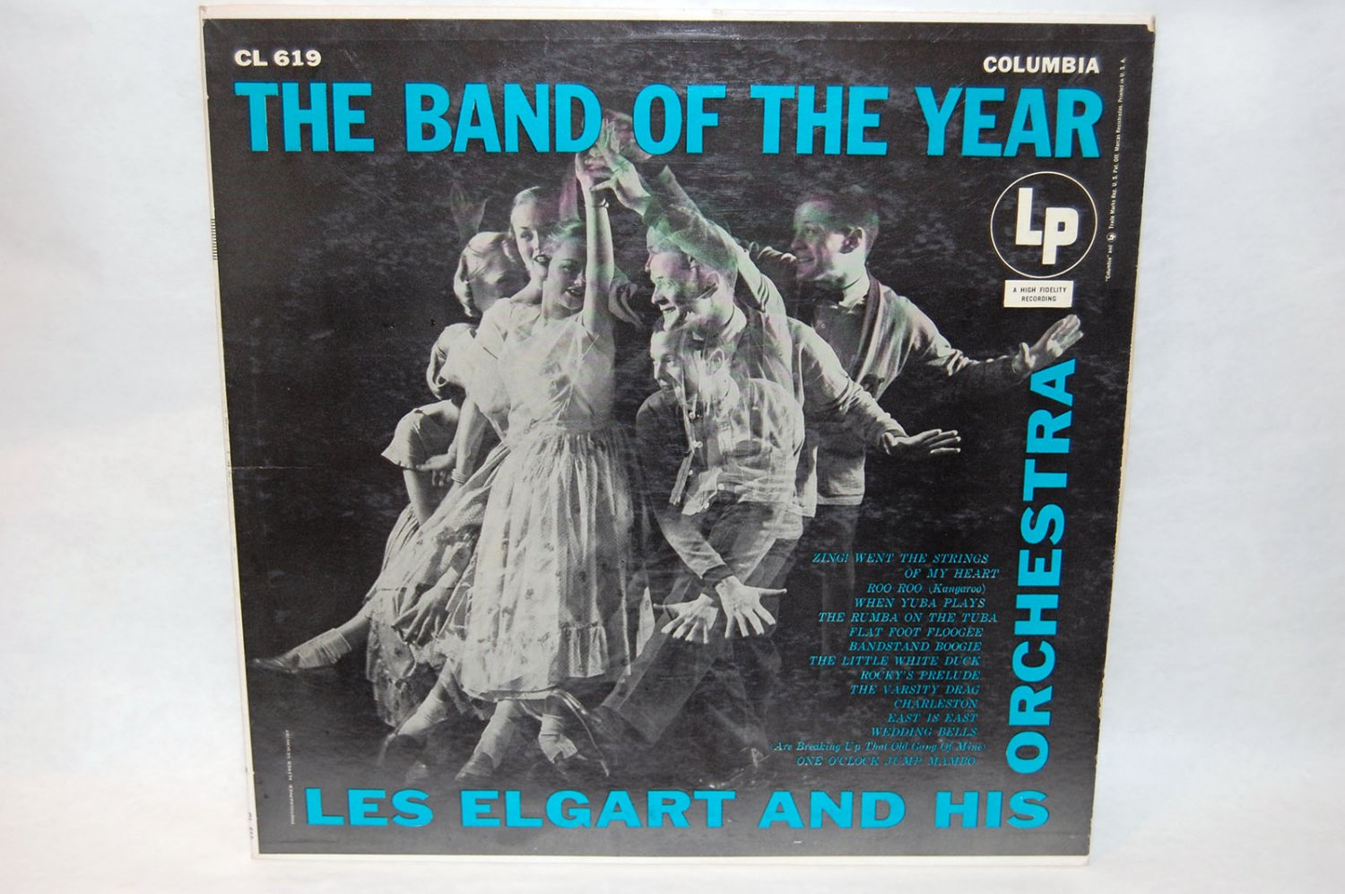 "LES ELGART & ORCHESTRA The Band Of The Year 12"" Vinyl LP Columbia CL-619"