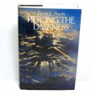 Piercing The Darkness by Frank E. Peretti (HC, 1990) 1st Printing Hardcover