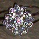 Vintage Cast Bracelet - Crystal