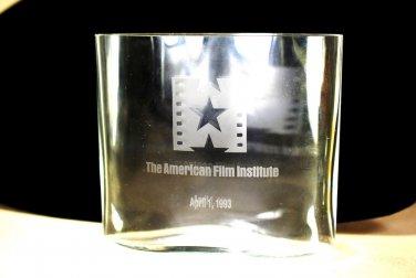 Tapio Wirkkala IITTALA Ovalis Vase American Film  FAB 1993 Signed Rare Movie