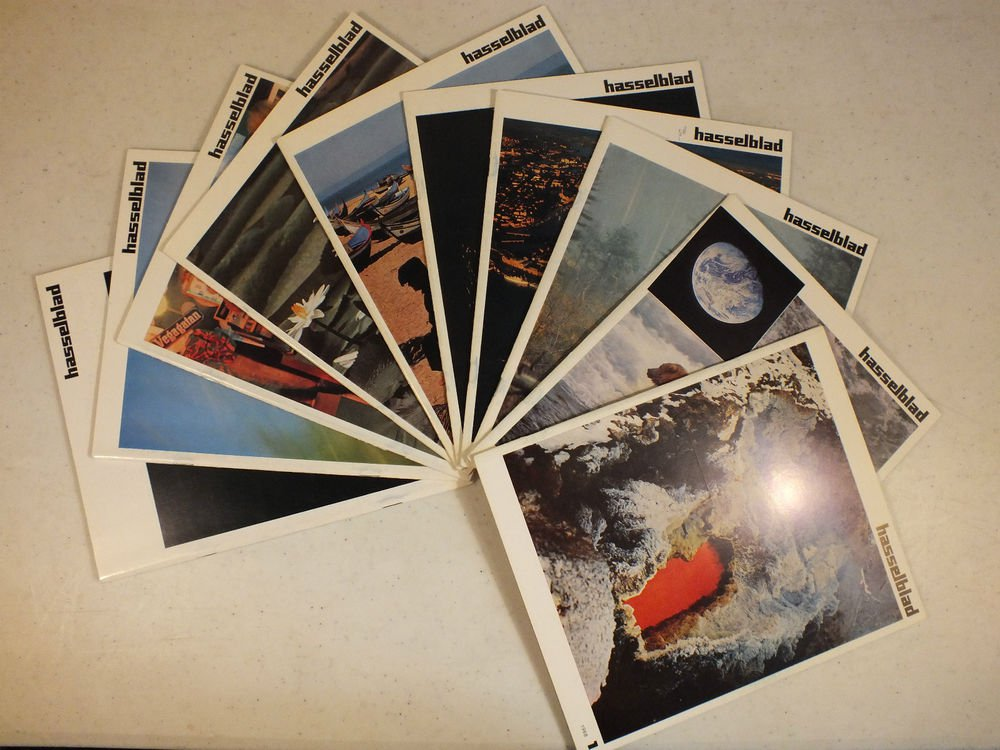 10 Issues Vintage 1970s Hasselblad Magazine For Photography Book 1965-1973