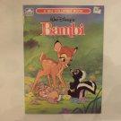 Unused Vintage Golden Coloring Book Disney's Bambi