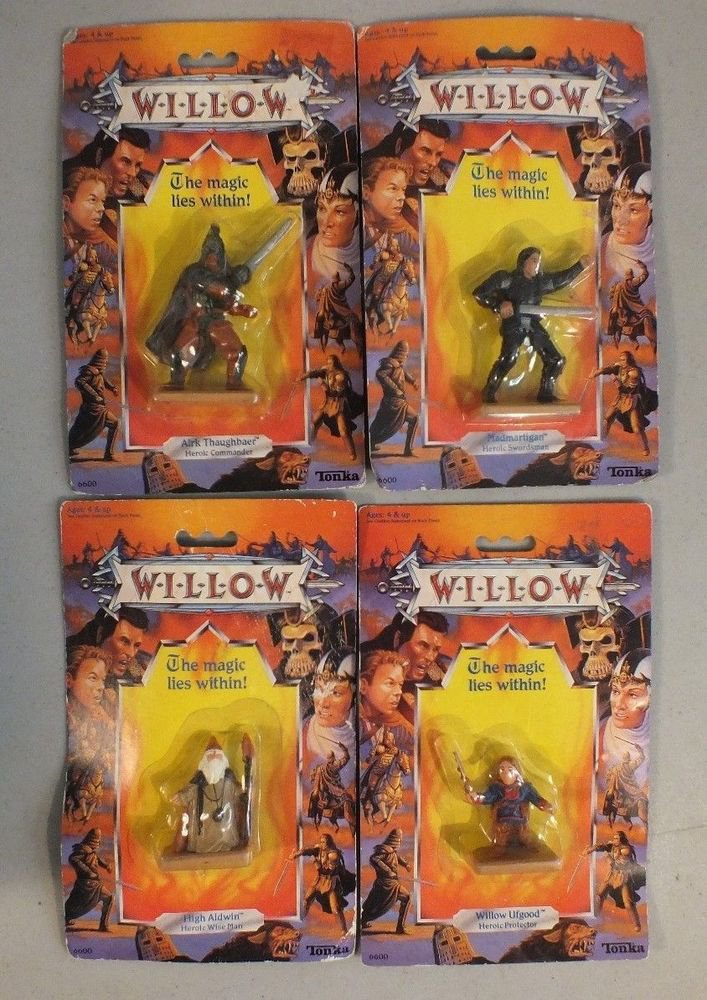 22 VINTAGE TONKA WILLOW ACTION FIGURES UNOPENED SOME DUPLICATES