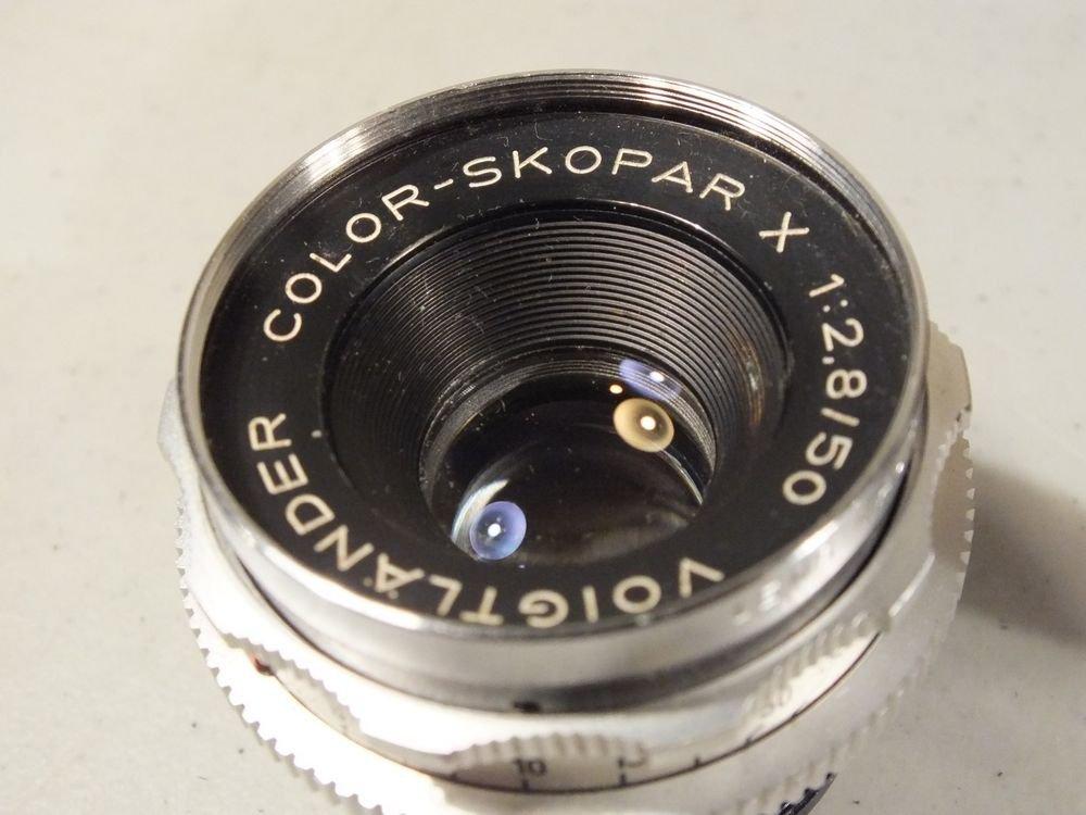 Voigtlander Color Skopar X Lens f2.8 50mm