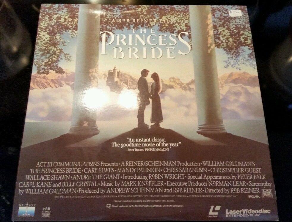 The princess bride  laser videodisc